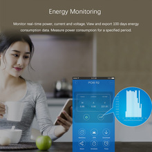 Sonoff Pow R2 Wireless WiFi Smart Power Monitor Switch 16A Power Consumption Measurement Timer For IOS Android DD6