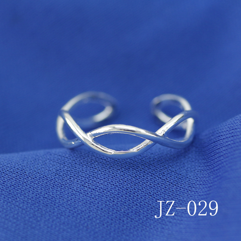 Free shipping of jewelry Han edition style double cross finger ring ring Contracted personality woman ring jewelry