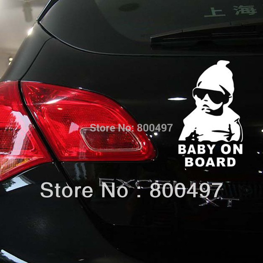 Baby Board Car Stickers Decal Toyota Ford Chevrolet Volkswagen Tesla Opel Hyundai Kia Lada - Elifestyle Zone Co., Ltd. store
