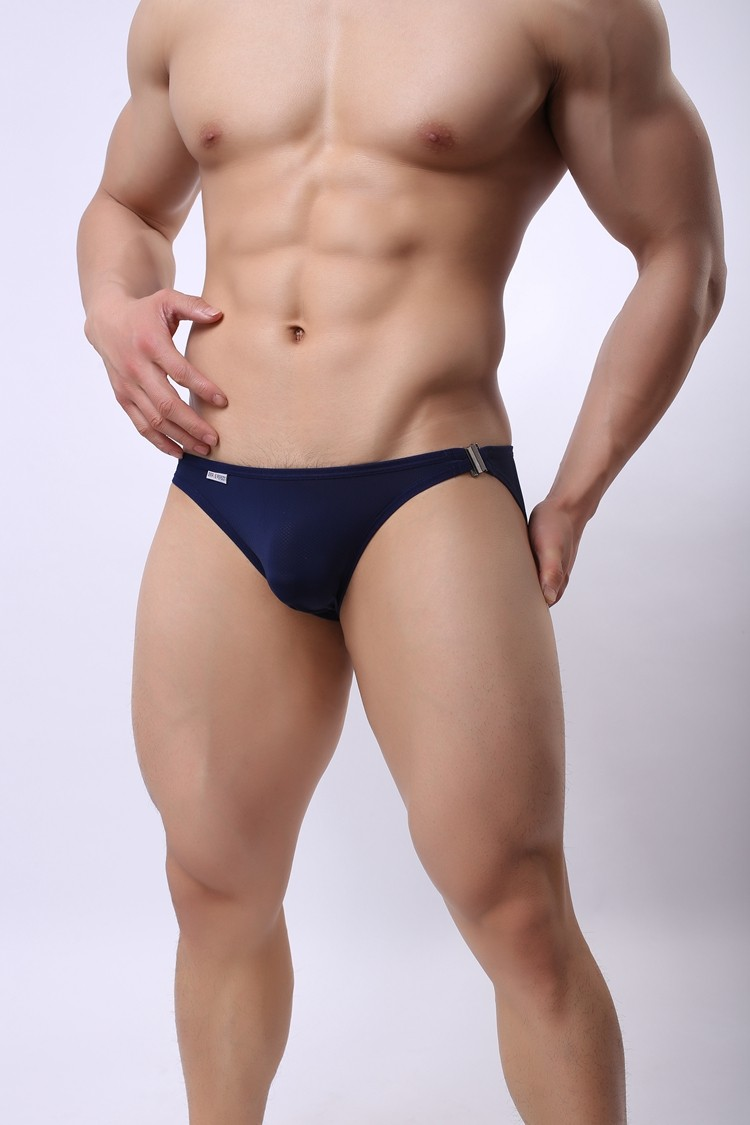 Brand Underwear Mens Briefs Novelty Lock Sexy Bulge Enhancer Gay Male Panties Breathable Shorts Low Waist Breave Person