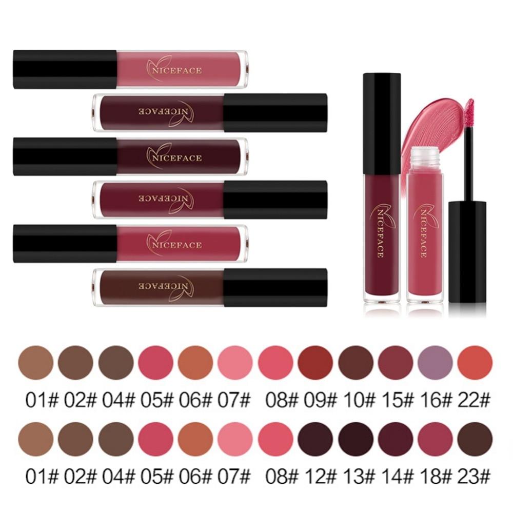 FOCALLURE Brand Liquid Lipstick Matte Waterproof Lips