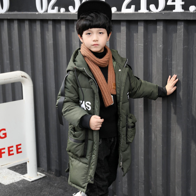 2017 winter boy coats kids long jacket children hooded jacket boys teenagers winter children cotton jacket children's long coat children winter coats jacket baby boys warm outerwear thickening outdoors kids snow proof coat parkas cotton padded clothes
