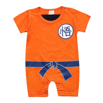 Dragon Ball Baby Rompers Newborn Baby Boys Clothes SON GOKU Toddler Jumpsuit Bebes Halloween Costumes For Baby Boy Girl Clothing 5