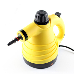 Hand-Held, Pressurized Steam Cleaner With High-Capacity Accessory Kit - Household, Automotive Multi-Purpose Chemicals, Steam C