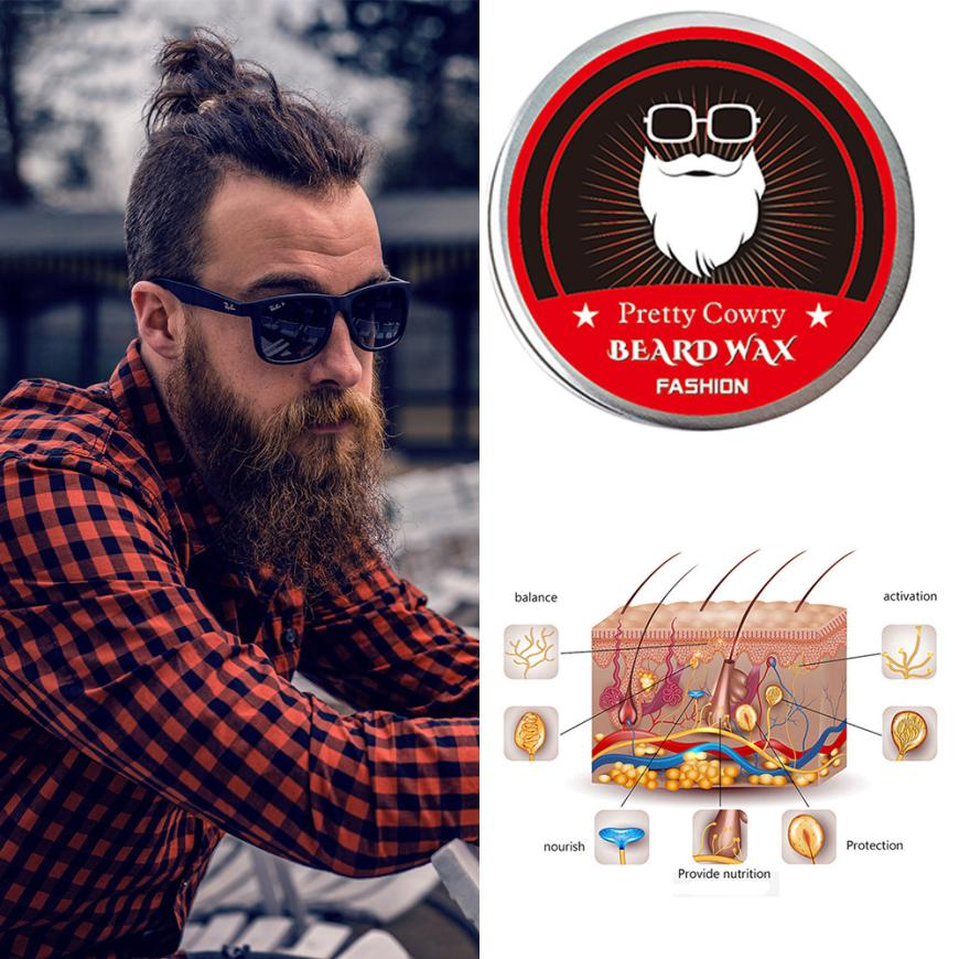 Halloween Men Beard Balm Leave Moisturizing Care Cream Beard Care Lubricating Cream 30g 8.16 1