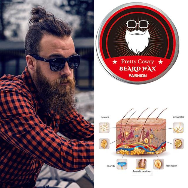 Halloween Men Beard Balm Leave Moisturizing Care Cream Beard Care Lubricating Cream 30g 8.16 1