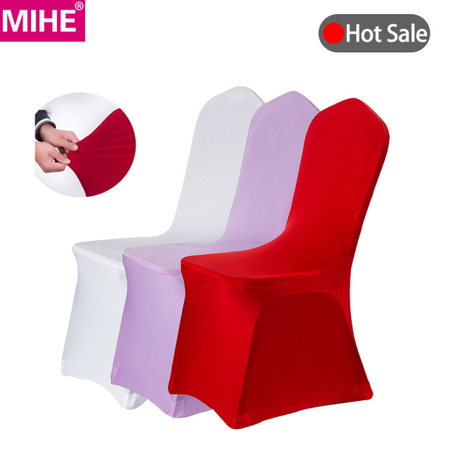 MIHE الحديثة كرسي مأدبة الزفاف غطاء دنة تمتد مرونة غطاء مقعد s فندق المطبخ الطعام مقعد يغطي في الهواء الطلق YZT06A