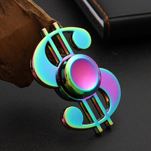 Colorful Hand Lol Spinner EDC Zinc Alloy Fidget Hand Spinners Autism ADHD Kids Finger Toys Spinners Focus Relieves Stress Adhd E silver black finger spinner fidget edc hand for autism adhd anxiety stress relief focus toys gift 2017 hot selling