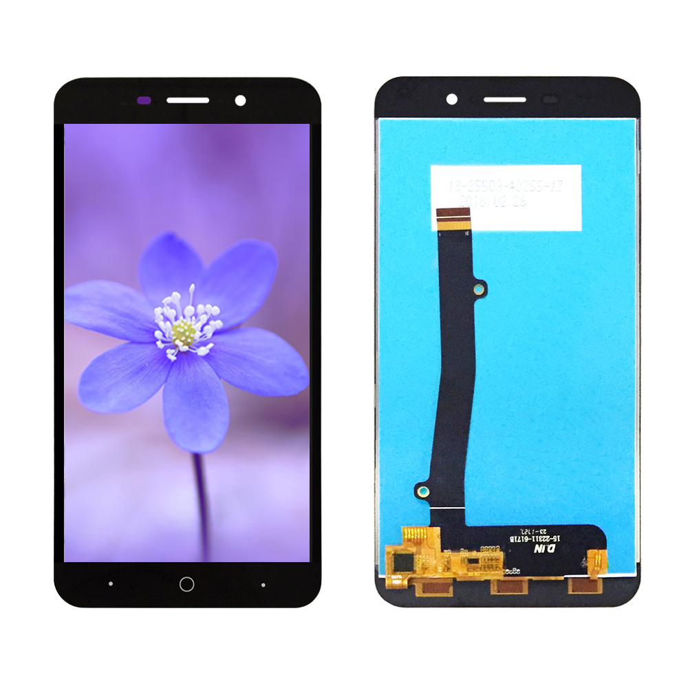 Top Quality For <font><b>ZTE</b></font> <font><b>Blade</b></font> <font><b>A602</b></font> <font><b>LCD</b></font> <font><b>Display</b></font> and touch Screen Digitizer Assembly For <font><b>ZTE</b></font> Voyage 4 Plus BA602 <font><b>LCD</b></font> Glass Panel image