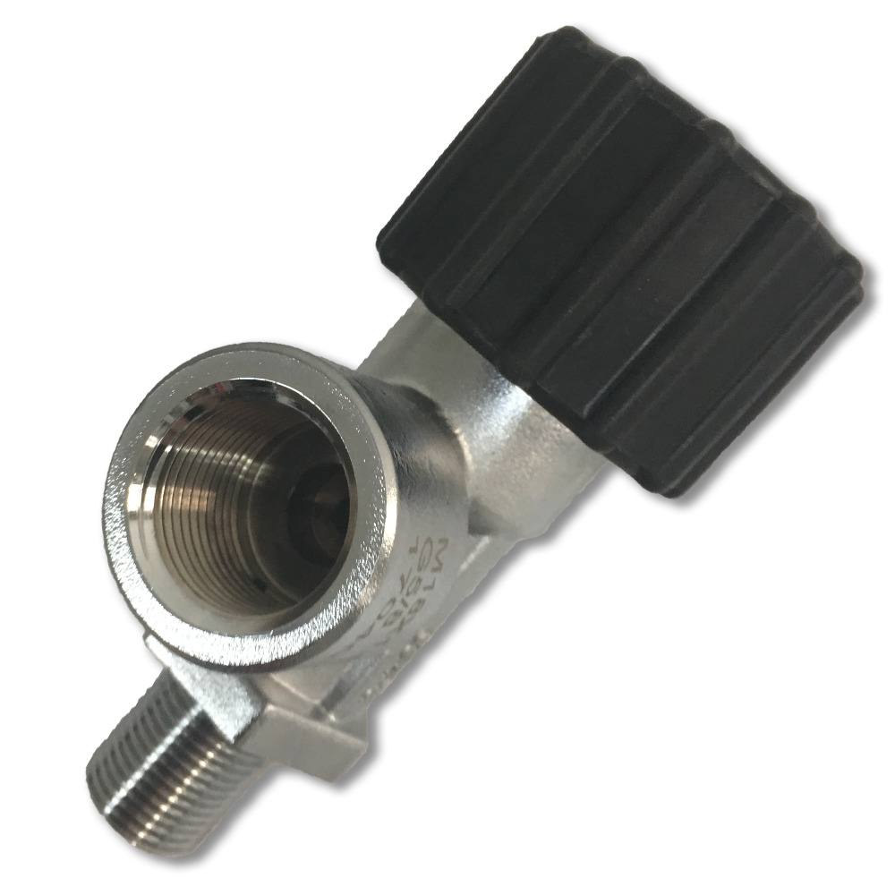 Acecare High Quality HP 4500psi Thread M18*.1.5 Compressed Air Valve For Gas Cylinder  Drop Shipping