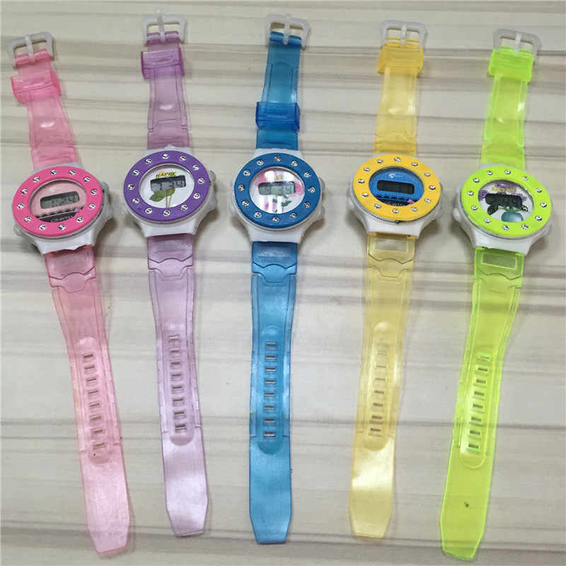 Multi-Function LCD Movement Electronic Watch Men Wrist Watch Watch Girl Students Children For Girl Boy 328
