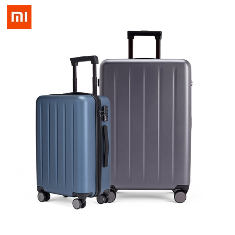 Rolling-Luggage Spinner Pc Suitcase Carry On Xiaomi 90fun Wheels Travel Business Women