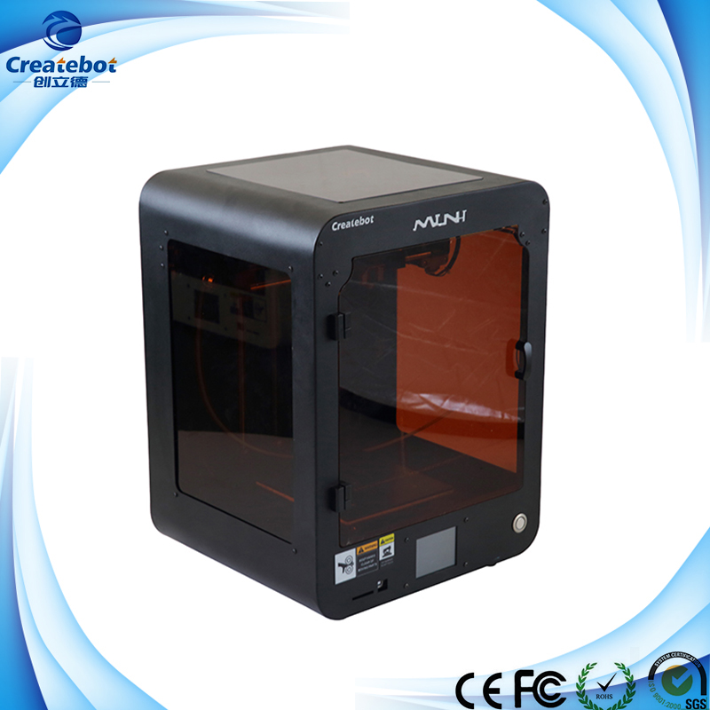 Createbot - Min Desktop 3D Printer For Sale special price createbot super mini 3d printer sexy purple designed for kids and children english touchscreen sales promotion