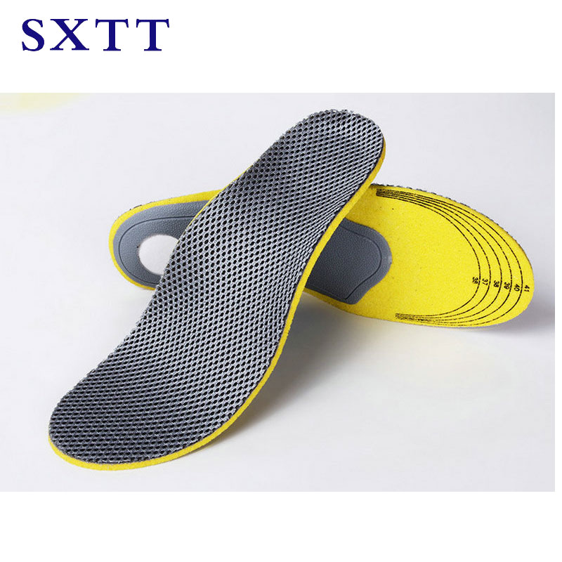 SXTTOrthopedic Insoles 3D Flatfoot Flat Foot s Orthotic Arch Support Insoles High Arch Shoe Pad Insole expfoot orthotic arch support shoe pad orthopedic insoles pu insoles for shoes breathable foot pads massage sport insole 045