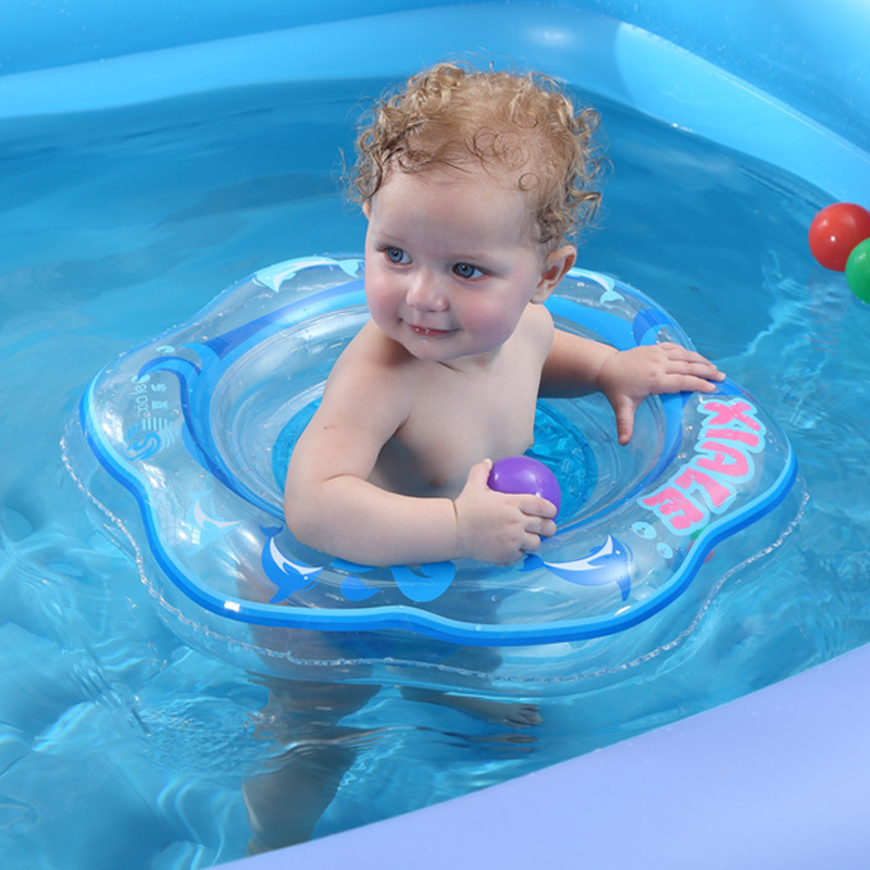 Children's Inflatable Baby Swimming Circle Baby Swimming Ring Armpit Ring Water Sitting Ring Inflatable Toys