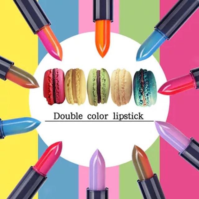 Double Color Balm Discoloration Lipstick