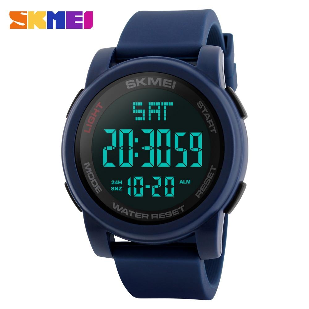Marca SKMEI Relojes para hombres Reloj LED digital Reloj de pulsera - Relojes para hombres - foto 3