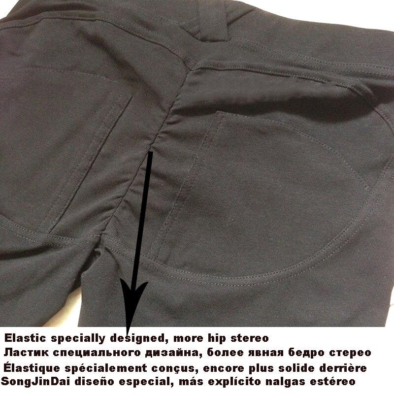 Punk Gothic Splice Frauen Leggings Elastische Taille Sexy Leder Leggings Splice Aushöhlen Dünne Leggings - 6