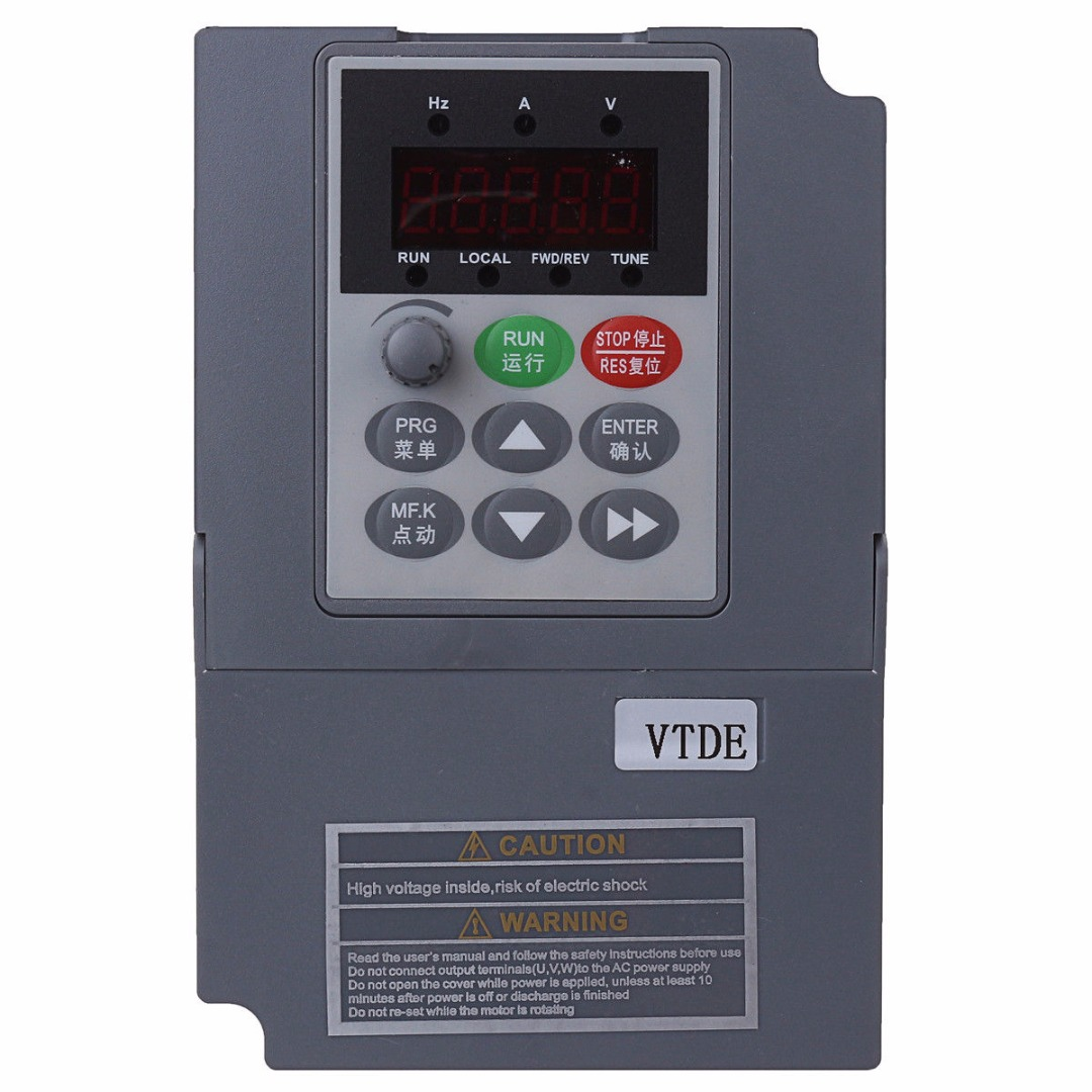 1pc Variable Frequency Drive Inverter 220V 1.5KW 7A Mayitr CNC Spindle Motor Speed Control Single Phase Variable Inverters 220v 5 5kw vfd variable frequency drive vfd inverter 3hp input 3hp output cnc spindle motor driver spindle motor speed control