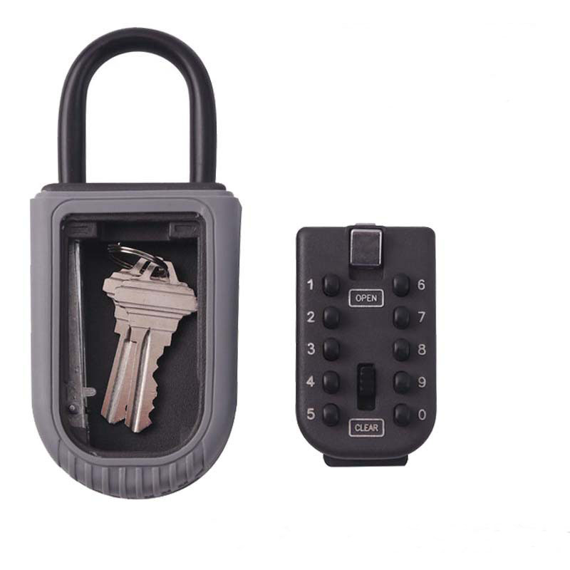 Realtor Wall Mount Key Lock Box with 10 Digit Push Button Combination is Weather Resistant for Indoors or Outdoors realtor wall mount key lock box with 10 digit push button combination is weather resistant for indoors or outdoors