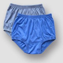 Free Shipping Middle-aged and old cotton briefs for male Tall waist big yards man underwear warm cotton shorts #7190