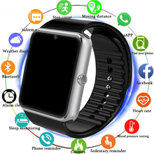 Bluetooth Smart Watch Men With Touch Screen Big Battery Support TF Sim Card Camera For IOS iPhone Android Phone PK A1 SmartWatch dhl free shipping kw18 smart watch phone with sim tf card mp3 smartwatch for android ios smartphone 340mah battery 1 3 ips