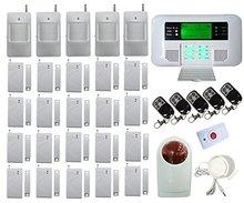 Envío libre de DHL Genérico FDL-40B-402 Wireless Wired GSM Inturder alarma PSTN Inteligente SISTEMA de alarma Antirrobo casa de seguridad del sistema