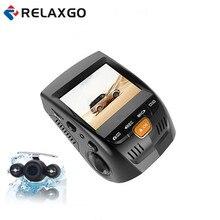 Cheaper Relaxgo 2.4″ Car Camera Dual Lens Mini Video Recorder Full HD 1080P Novatek 96655 Car DVR WDR Night Vision Dash Cam Black Box