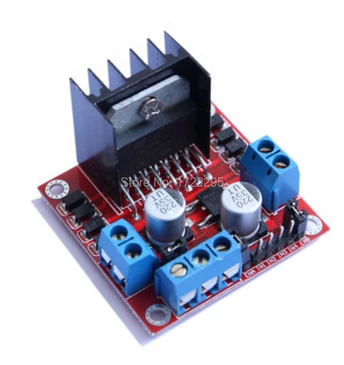 1PCS New Dual H Bridge DC Stepper Motor Drive Controller Board Module L298N For Arduino TK0450