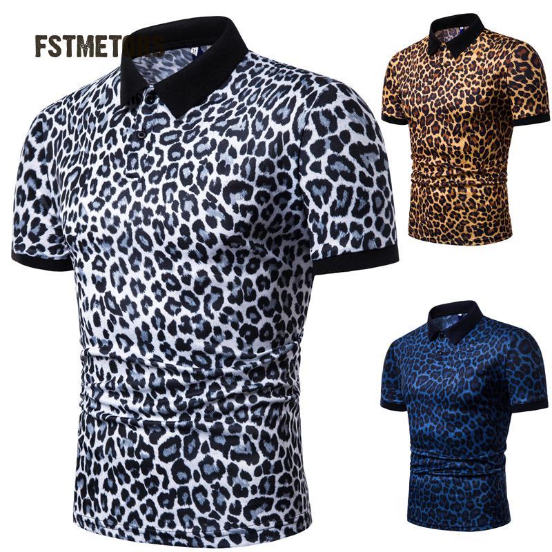 2019 Summer Men's   POLO   Shirt Fashion Casual Personality Print Men's Sports Short Sleeve   Polo   Shirt
