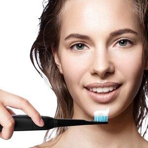 Image 5 - を Seago ソニック歯ブラシ電動 USB 充電式防水交換ブラシヘッド最高のギフト