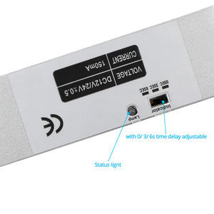 Image 2 - צילינדר חשמלי זרוק בורג נעילה באיכות גבוהה DC 12 V להיכשל בטוח עבור מערכת בקרת גישה דלת מנעול אבטחה עם זמן עיכוב