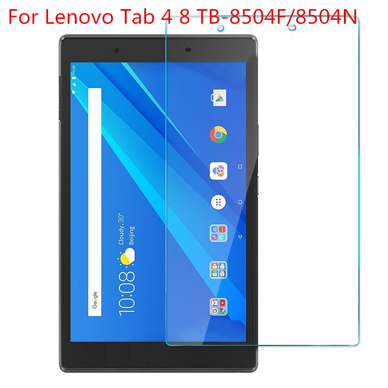 Glass For Lenovo Tab 4 8 /8 Plus TB-8504X / 8504F TB-8704F / 8704X Tablet Screen Protector Tempered Glass Film For Tab 4 10 Plus
