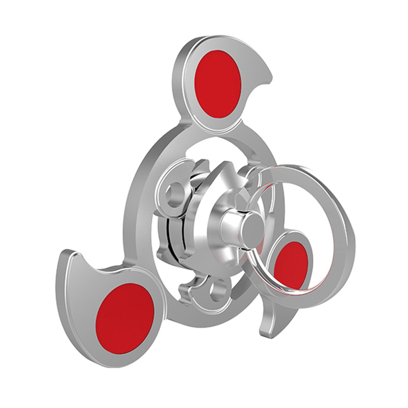Tri-Spinner Metal Air Finger Handspinner EDC Hand Spiner Toy For Autism/ADHD Anxiety Stress Relief Focus Finger Spinner