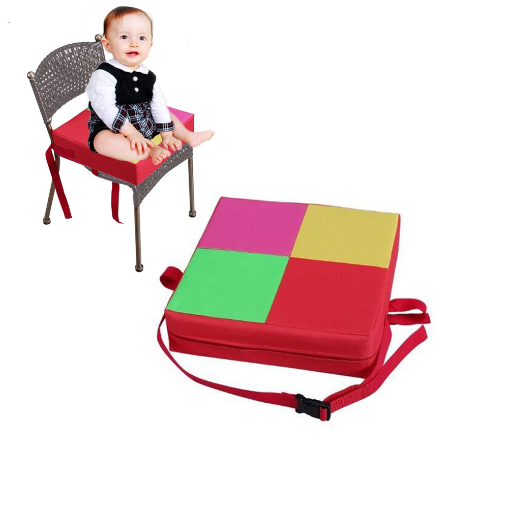 Baby Kids Chair Booster Cushion Highchair Increase Height Seat Pad Chair Mat Supplies  S7JN