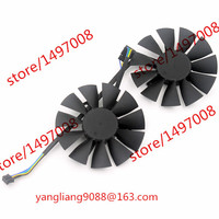 Free Shipping Emacro EVERFLOW T128010SH DC 12V 0.25AMP 8-wire 4-pin connector 65mm Server Round Cooling fan