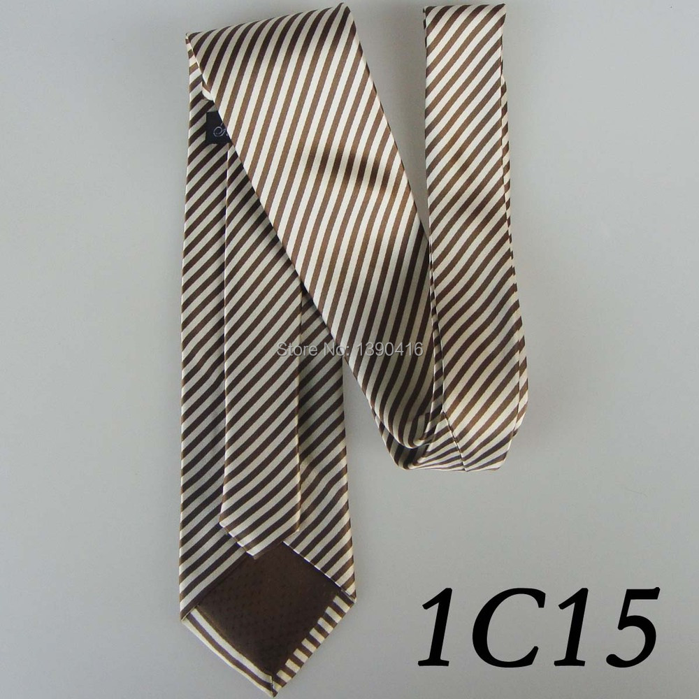 2018 Latest Style Brand Tie Border Pearl White/Brown Sloping Grain Design/Dress/Shirt/Casual Dress/Groom Bestman Necktie For Men