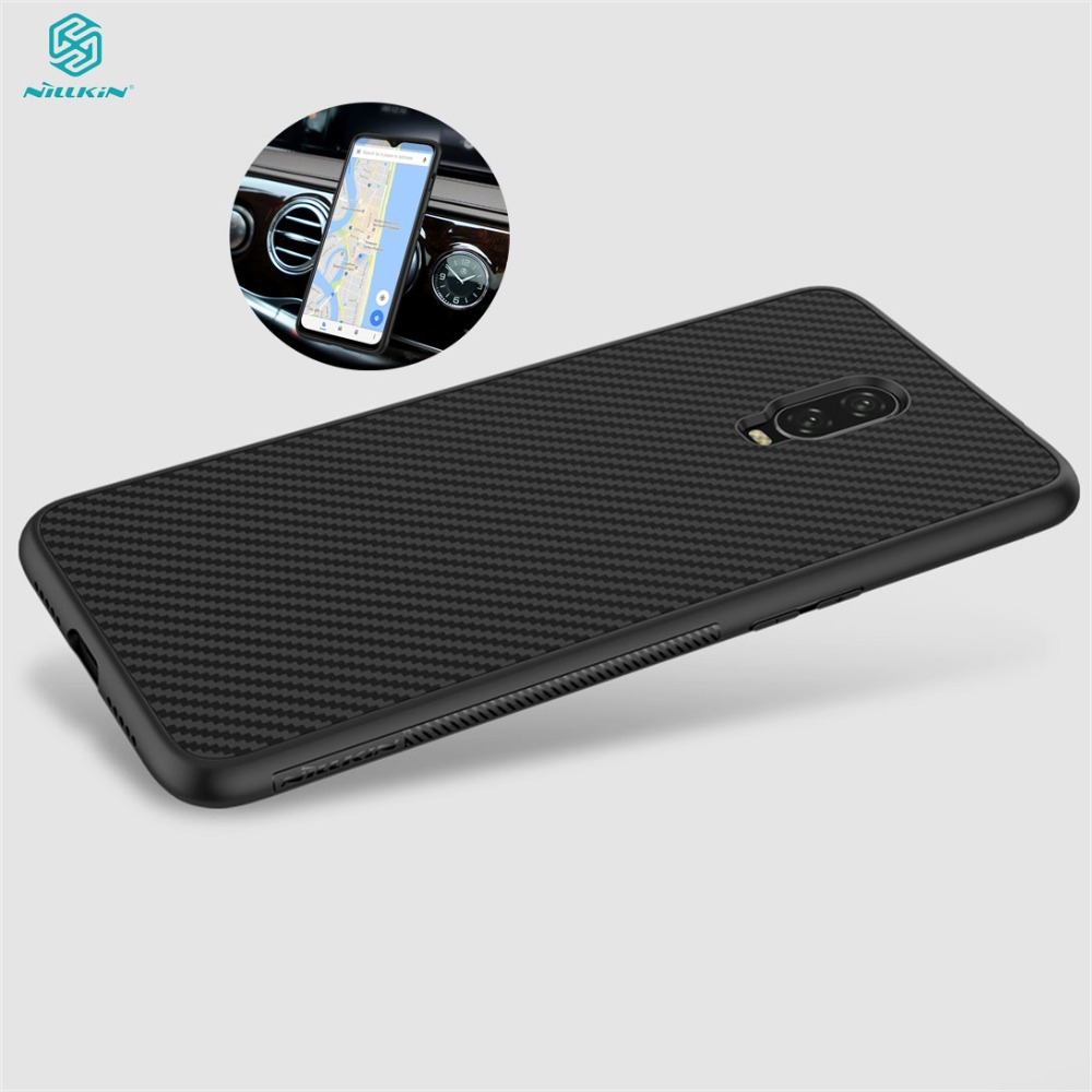For OnePlus 6 6T Case Luxury Cover Synthetic Fiber Phone Case For OnePlus 6T NILLKIN Hard Cover High Quality Case For OnePlus 6