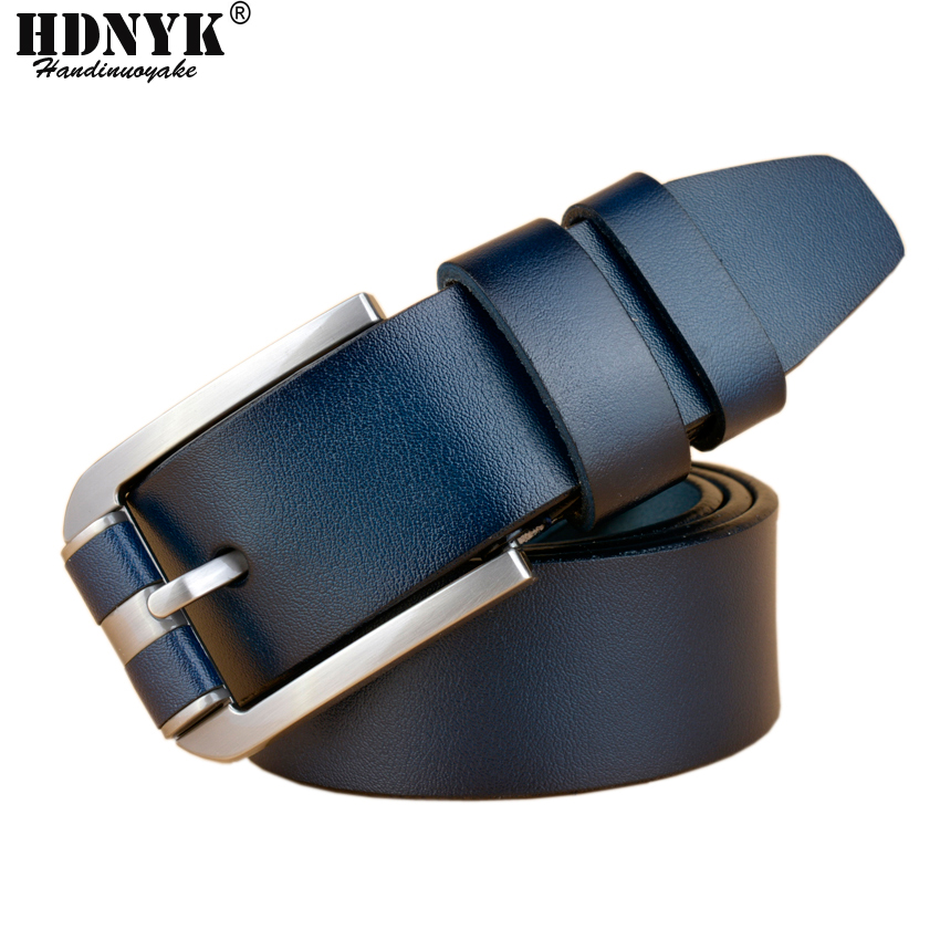 New Fashion Designer Famous Brand Luxury Belts Men Genuine Leather - Apparel Accessories