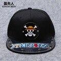 2016 Весна и Лето Мода One Piece Snapback Хип-Хоп Шапки Мужчины Женщины Луффи Бейсболка Акриловые Hat Высокое Качество