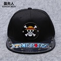 2016 Spring & Summer Fashion One Piece Snapback Hip Hop Caps Men Women Luffy Baseball Cap Acrylic Hat High Quality