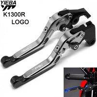 Motorcycle CNC Brake Handle Adjustable Folding Brake Clutch Levers For BMW K1300R K 1300 R K1300 R K 1300R 2009 2015