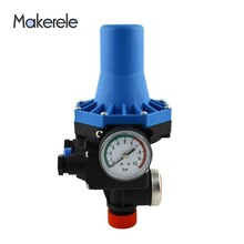 Adjustable Water Pressure Switch Valve Automatic Electric Electronic Control for Water Pump 220v MK-WPPS08 G1 Connection thread mk wpps15 automatic water pump pressure controller electronic switch control water shortage protection with plug socket wires