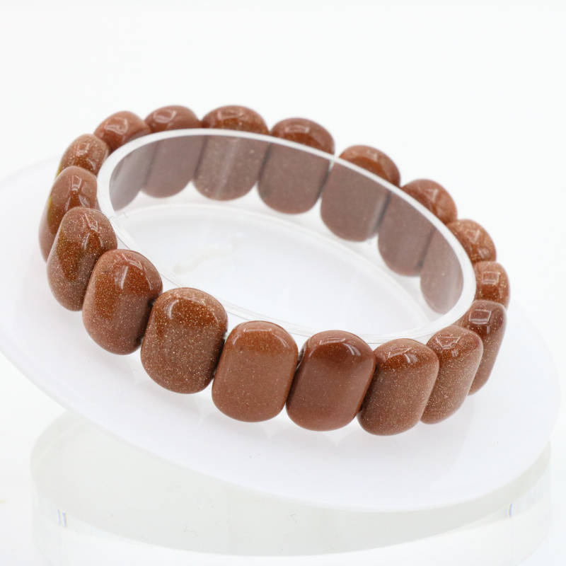 Online Shop Beautiful!gold sand 10x14-11x16mm bracelet two sizes ...