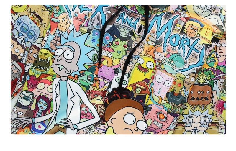 Men /Women Hood Cartoon Rick and Morty print Men /Women Hood Cartoon Rick and Morty print HTB1s2ueQFXXXXXDXFXXq6xXFXXX0