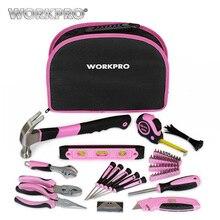 WORKPRO 103PC Women Pink font b Tools b font font b Home b font font b
