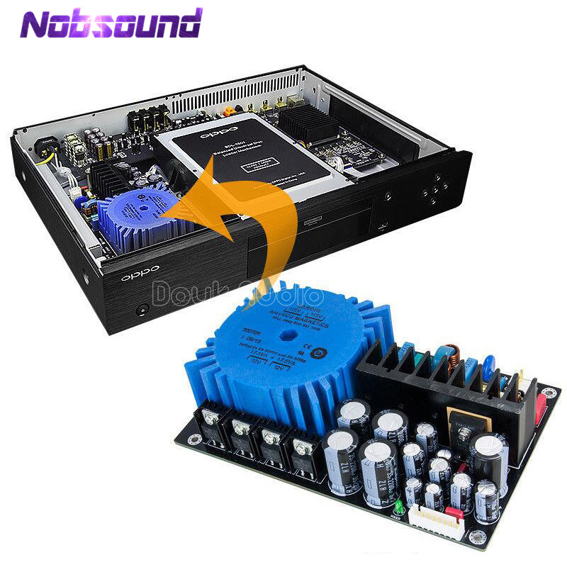 Nobsound Hi-end Handmade Built-in Linear Power Supply Board For OPPO UDP203/205 Modified Upgrade the Picture and Sound QualityNobsound Hi-end Handmade Built-in Linear Power Supply Board For OPPO UDP203/205 Modified Upgrade the Picture and Sound Quality