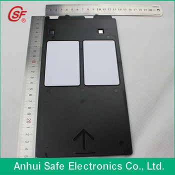 PVC ID Card Tray For Canon G Inkjet Printer Printing Inkjet PVC card 5pcs + free 10pcs Blank Inkjet PVC Cards - SALE ITEM Office & School Supplies