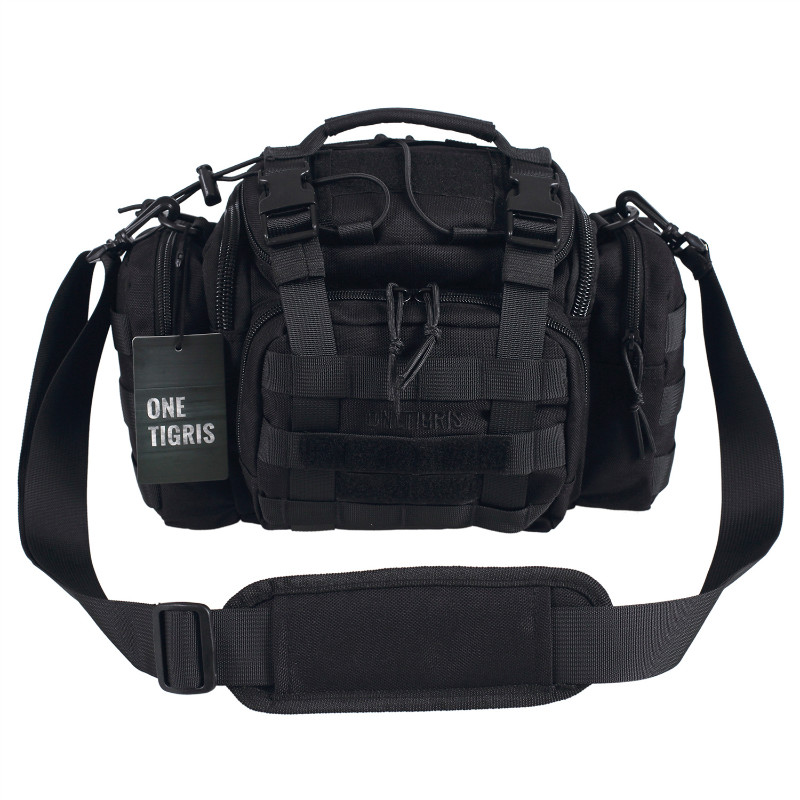 OneTigris Tactical MOLLE Hunting Waist Bag Pack For Men 3 Ways Modular Deployment Utility Bag Heavy