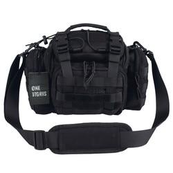 OneTigris Tactical MOLLE Hunting Waist Bag Pack For Men 3 Ways Modular Deployment Utility Bag Heavy Duty with Shoulder Strap